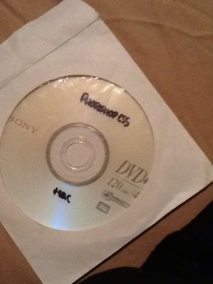Sad one photoshop burned disc for Sale in Litchfield Park, AZ