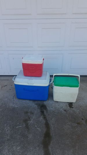 3 Ice Chest! for Sale in Fresno, CA