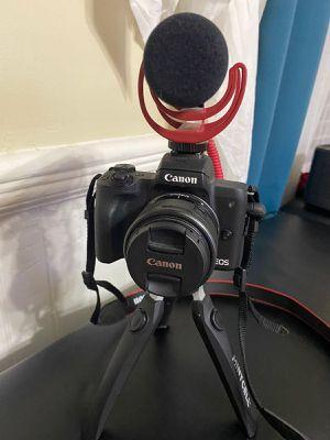 Canon EOS M50 Mirrorless Camera with EF for Sale in Alpharetta, GA