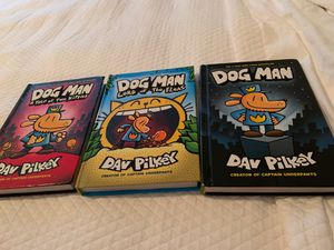 3 dog man books for Sale in Saint Michael, MN