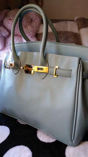 Blue & gold bag for Sale in Baldwin Hills, CA