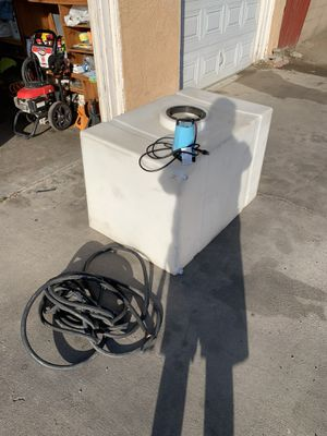 150 gallon water tank for Sale in San Bernardino, CA