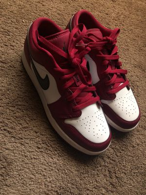 Nike Air Jordan 1 Low Noble Red and White for Sale in Phoenix, AZ