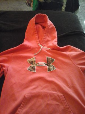 Hot pink underarmor hoodie for Sale in Quincy, IL