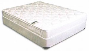 Twin/queen pillow top mattress with boxspring for Sale in Sunnyvale, CA