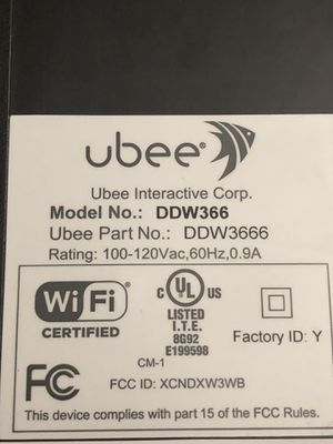 Ubee internet modem for Sale in Westborough, MA