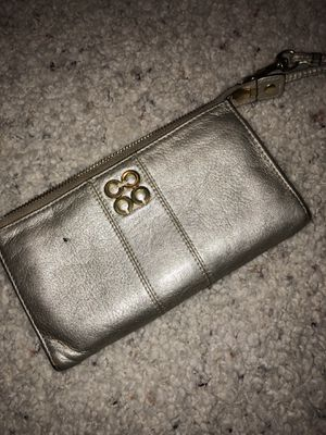 Gold Coach wristlet wallet for Sale in Midlothian, VA