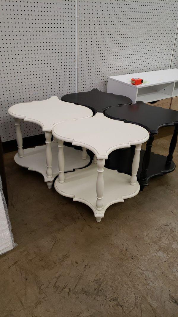 Set of 4 side tables