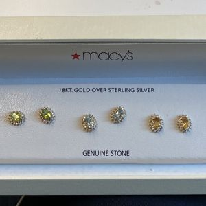 5 Pair Of Gem Stone Earrings for Sale in San Leandro, CA
