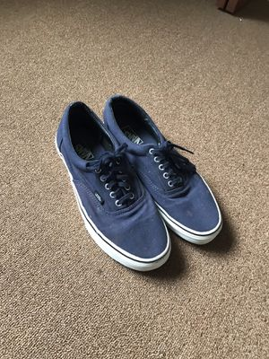 Men's Navy Blue Vans Authentic Skate Shoes for Sale in Honolulu, HI