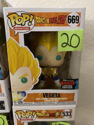 Vegeta Funko pop nycc for Sale in Tustin, CA