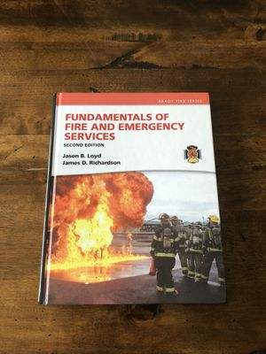 Fund. of Fire & Emergency Services Textbook for Sale in Lockport, IL