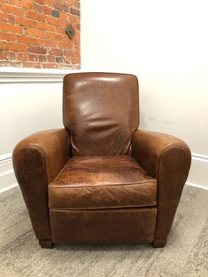 American Leather Briarwood Leather Burrows Recliner for Sale in Seattle, WA