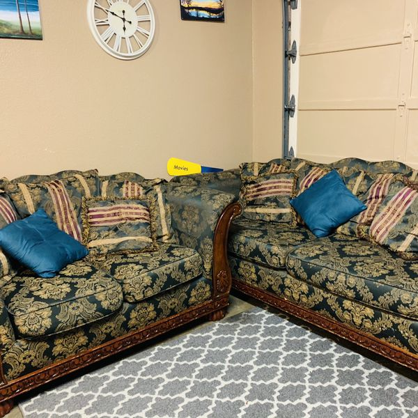 Two Matching Couches
