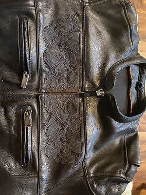 Leather Motorcycle Jacket for Sale in Delaware, OH