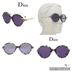 CHRISTIAN DIOR - 52mm Umbrage Round Sunglasses for Sale in Hayward,  CA