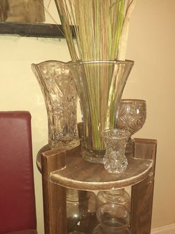 Crystal vases for Sale in Cleveland,  TN