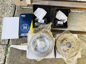 Jeep Patriot Full Brake Kit *Pads + Rotors + Hardware, Lube*, Intake and Cabin Filters (included in price) for Sale in Seattle, WA
