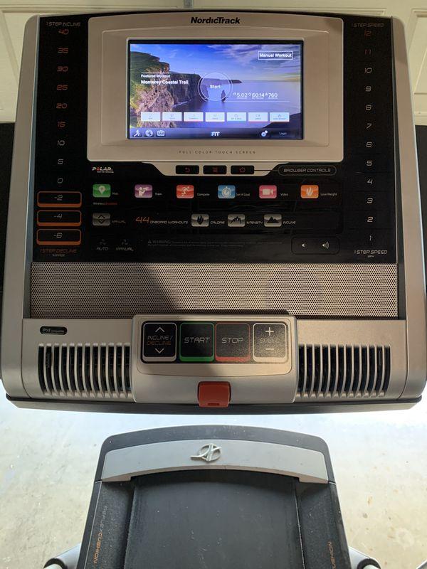 NordicTrack Treadmill x9i