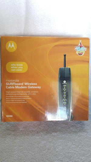 Motorola SBG900 Cable Modem Gateway for Sale in Boca Raton, FL