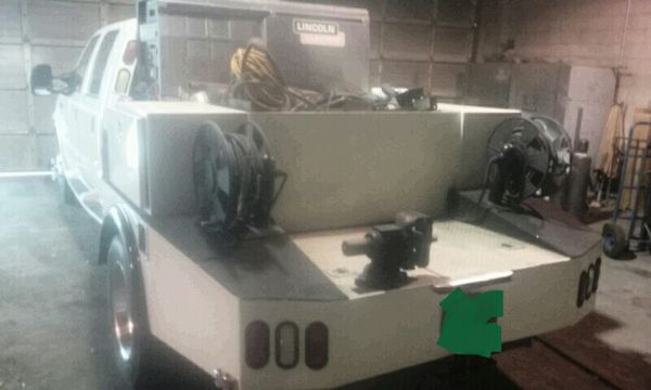Ford F450 Welders Rig