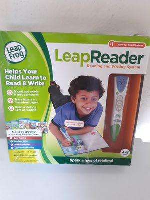 LeapFrog LeapReader Reading and Writing System, Green for Sale in Murphy, TX