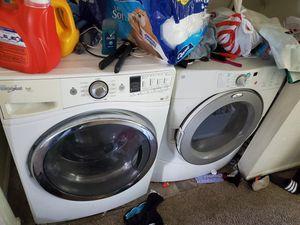Front loader washer n dryer for Sale in West Jordan, UT