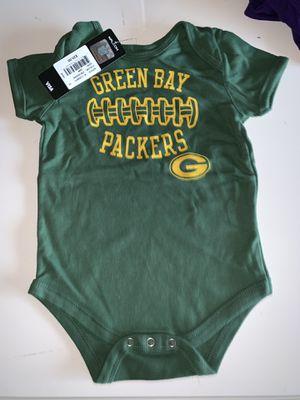 Green Bay Packers NFL 24m onesie for Sale in Killeen, TX