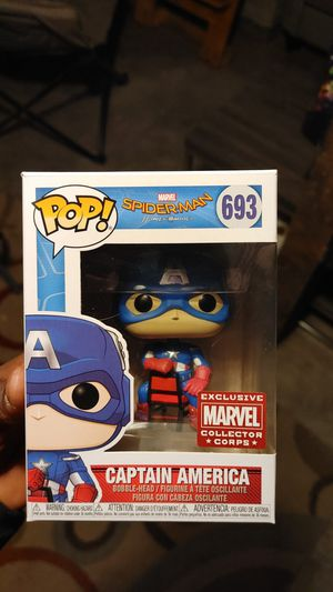 Captain America collectors corp exclusive for Sale in Burien, WA