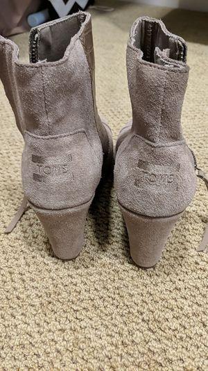 TOMS heel bootie size 7 for Sale in Pacifica, CA