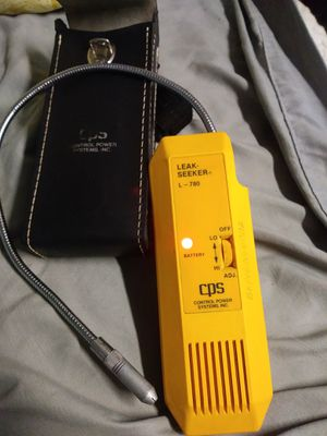 CPS Leak Seeker Yellow L-780 AC Refigerant Freon Gas HVAC Tool Used for Sale in Pahrump, NV