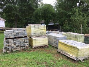 Used, PALLETS OF PAVERS FOR SALE for Sale for sale  Cumming, GA