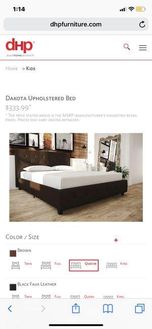 Queen bed for Sale in San Bernardino, CA