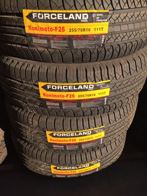 255/70/16 LOW COST TIRES for Sale in Arlington, TX