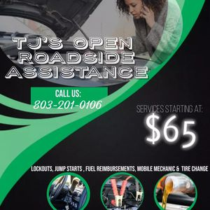 Roadside Assistance for Sale in Columbia, SC