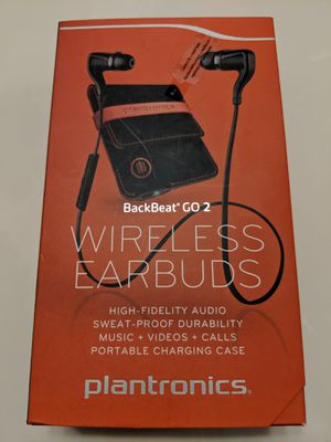 Plantronics wireless earbuds for Sale in Fontana, CA