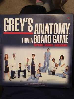 Greys board game. for Sale in Oshkosh, WI