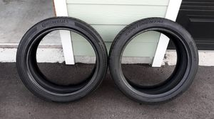 2 - 245 40 R19 used tires for Sale in Seminole, FL