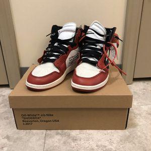 Jordan 1 Retro High Off-white Chicago for Sale in Shippensburg, PA
