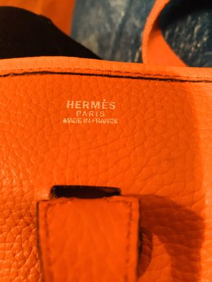 Hermes authentic bag . Stamp made in France for Sale in Corona, CA