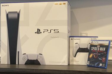 Ps5/Unopened/Games Included/Full box for Sale in Stockton,  CA