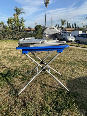 KOBALT TABLE/TILE SAW for Sale in Fontana, CA