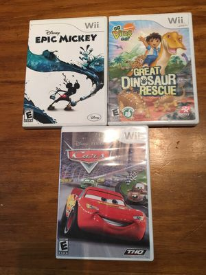 Wii - kid games - misc for Sale in San Rafael, CA