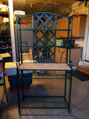 Baker's Rack, Wine Rack for Sale in Puyallup, WA