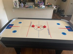 """Brunswick Air Hockey Table Dimensions: 83.875"""" L x 32.5"""" H x 41.125"""" W for Sale in Carlsbad, CA"""