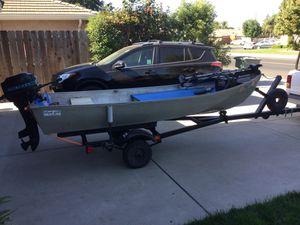 12' aluminum boat for Sale in Salida, CA