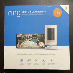 Ring Stick Up Cam Battery for Sale in Springfield, VA