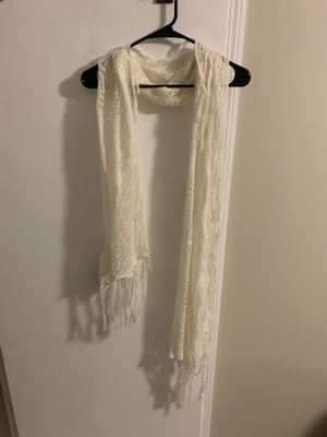 Cute off white scarf for Sale in Columbus, OH