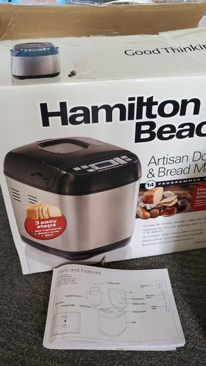 Hamilton beach Artisan dough & bread maker for Sale in Melvindale, MI