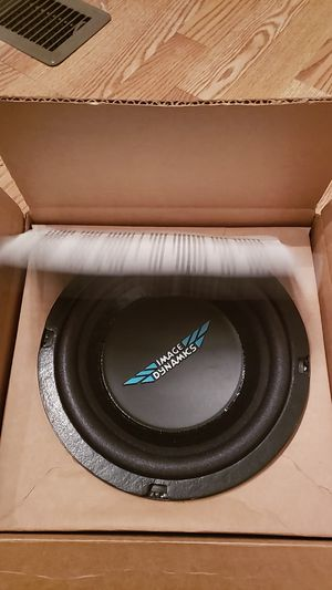 """8"""" subwoofer high end quality image dynamics for Sale in Murfreesboro, TN"""